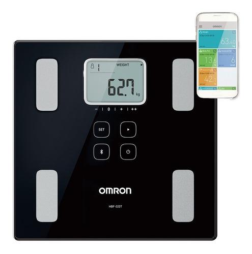 Balança De Controle Corporal Omron Com Bluetooth Hbf-222t