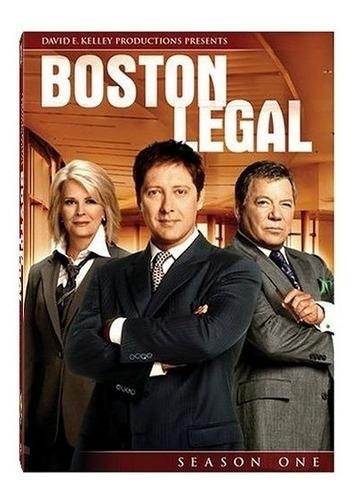 Boston Legal - Serie Completa 5 Temporadas - Dvd