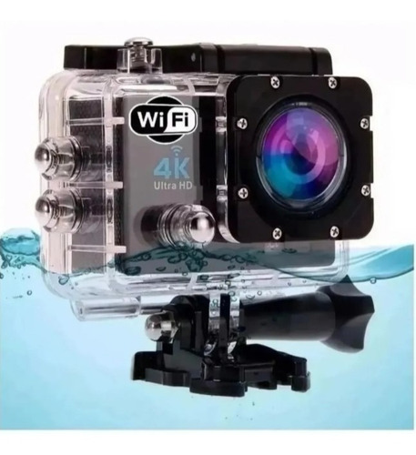 Camera 4k Sports Gopro Sportiva Filmadora Hd A Prova D'água