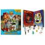 Toy Story 4 Amigos Para A Vida Livro Com 10 Miniatura