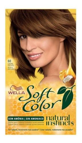 Tintura Soft Color Wella Sin Amoniaco, Tonos Varios