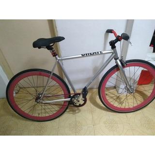 Bicicleta Fixie Create Plateada