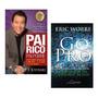 Kit Livros Pai Rico Pai Pobre Go Pro (marketing Rede)