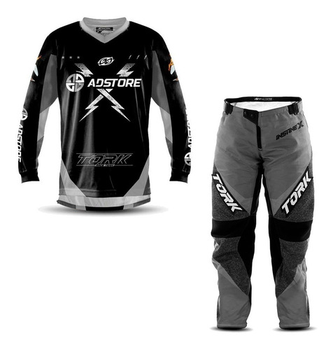Kit Calça Camisa Feminina Trilha Motocross Ad Store Nf