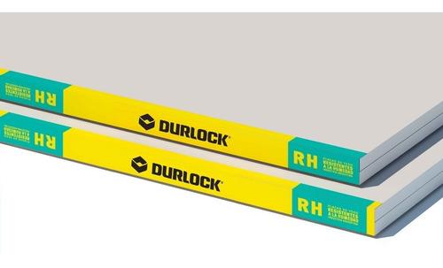 Placa Durlock 12.5 Mm 1.20x2.40 Mts Resistente Al Agua Verde