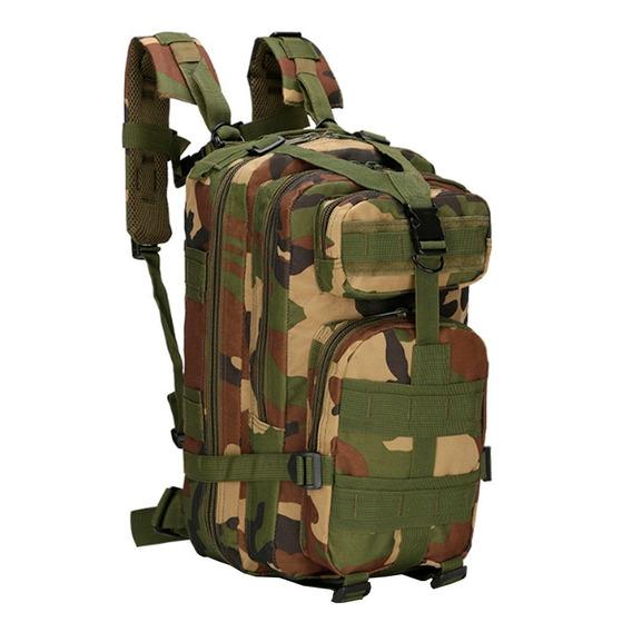 Mochilas Tactica Militar Camping Swat Sistema Molle Ahora 18