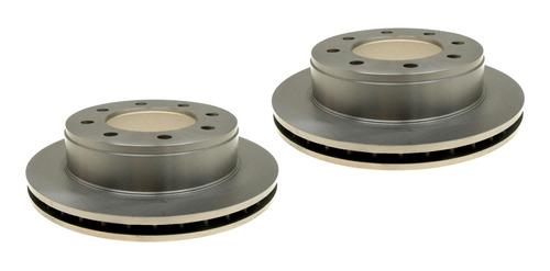 2 Discos De Freno Traseros Hummer H2 05-09 Raybestos