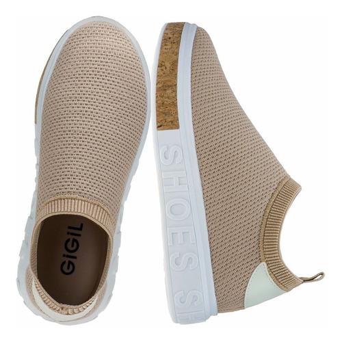 Tenis Feminino It Shoes Sneaker Slip-on Calce Fácil Tricô