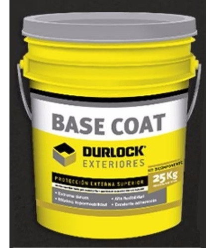 Base Coat Bicomponente Durlock Para Exteriores