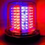 Giroled Giroflex 12v 128 Leds 2 Cor Azul Vermelho Parafuso