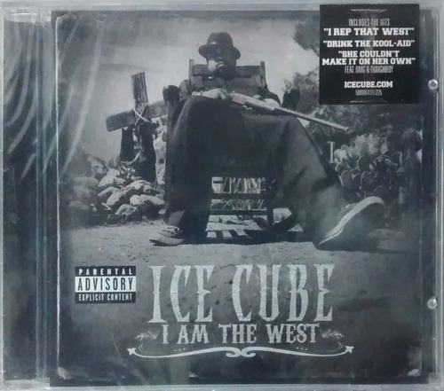 Cd Ice Cube - I Am The West - 2010 Original