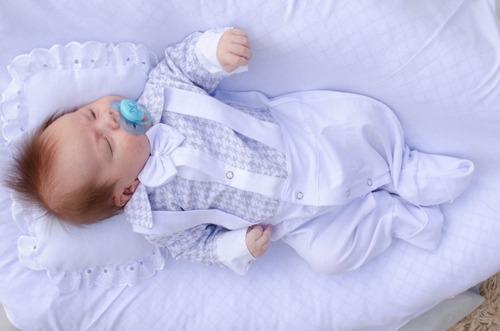 Saída Maternidade Menino Miguel 4 Peças Cor 6