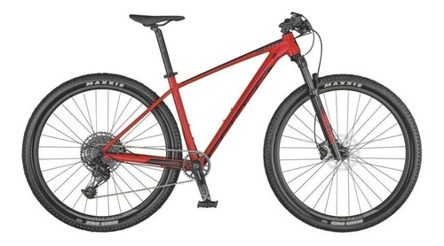 Mountain Bike Scott Scale 970  2021 R29 L 12v Frenos De Disco Hidráulico Cambio Sram Sx Eagle Color Rojo