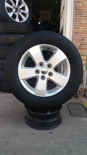 Rin Y Llanta-repuesto Dodge Jurney 17