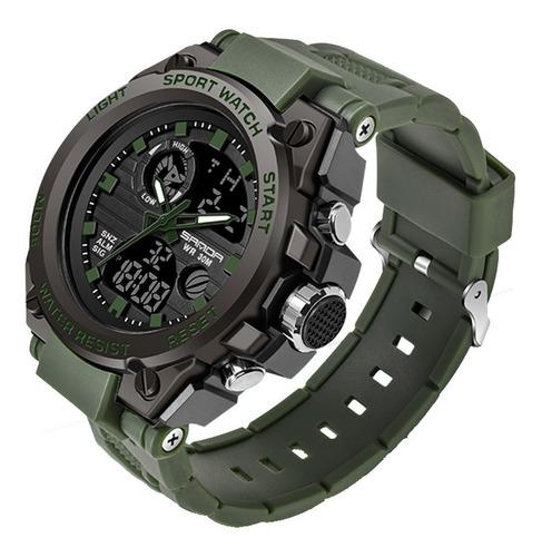 Relógio Sports Watch Sanda Multifuncional