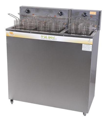 Fritador Água E Óleo 54 Lts Gabinete Ital Inox 220v