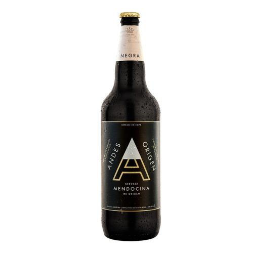 Cerveza Andes Origen Negra Schwarzbier Negra Envase Retornable 1l