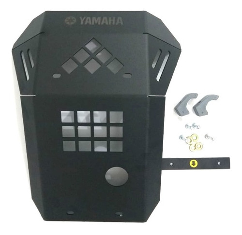 Pechera Cubrecarter Protector Motor Aluminio Yamaha Xtz 250