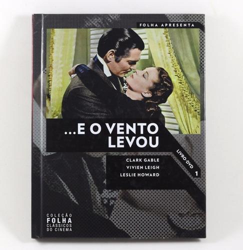 Dvd- E O Vento Levou- Coleção Folha