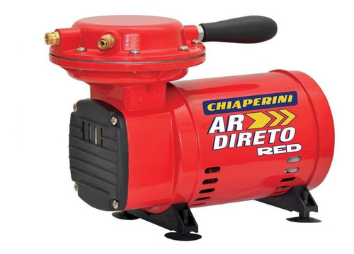 Compressor De Ar Mini Elétrico Portátil Chiaperini Ar Direto Red Monofásica 127v/220v