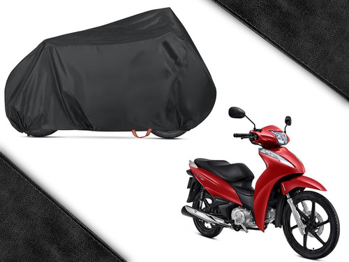 Capa Moto Térmica Protetora Biz Cg Fan Impermeável Eco Capas