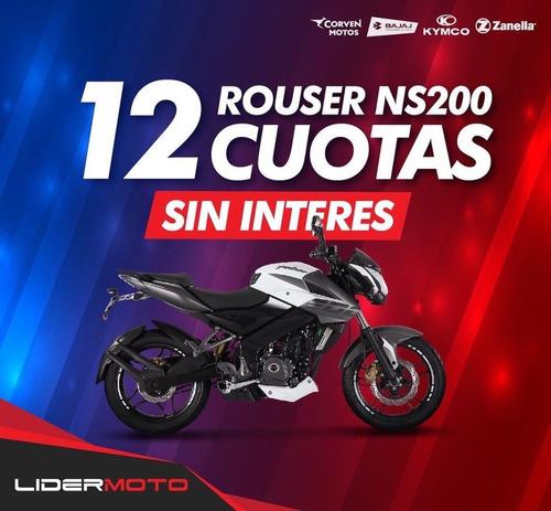 Bajaj Rouser Ns 200 Lidermoto Colores Disponibles No Ybr 125