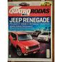 Revista Quatro Rodas Jeep Renegade N°668 Ano 2015