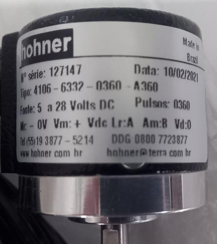 Encoder Hohner Abz Push-pull 5-28v 360 Pulsos Pronta Entrega