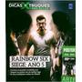 Revista Superpôster Dicas & Truques Xbox Rainbow Six Siege