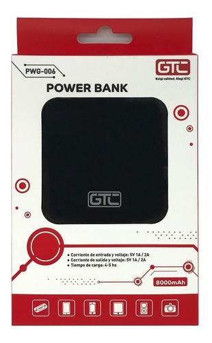 Cargador Portátil Power Bank Gtc 8000 Berazategui