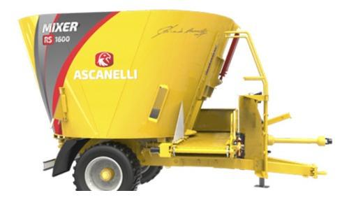 Mixer Vertical Ascanelli Rs 1000 / 1600