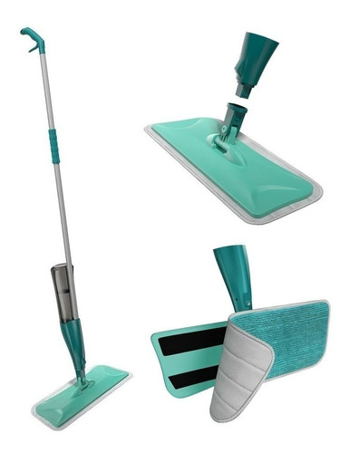 Mop Spray Magico Com Reservatorio Rodo De Limpeza Microfibra