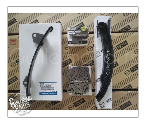 Kit Cadena De Tiempo Mazda 3 1.6 Nuevo Original Mazda