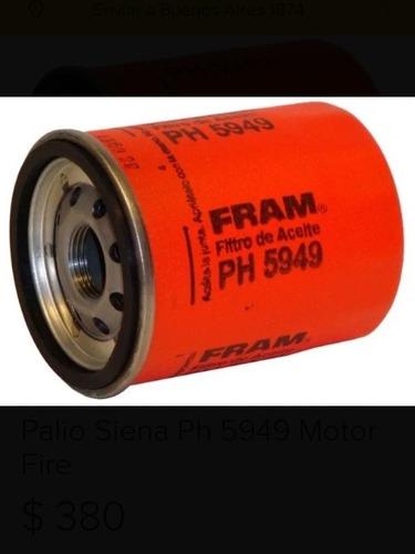 Filtro De Aceite Fram Ph5949