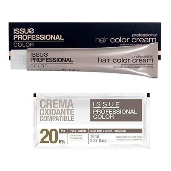 Tintura Issue Professional Color X 70gr Profesional + Oxi