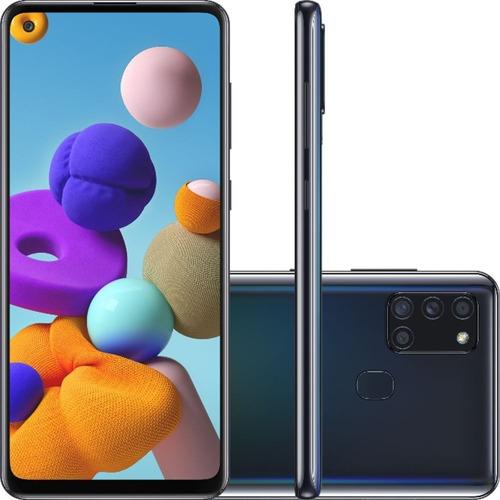 Samsung Galaxy A21s Dual Sim 64 Gb 4gb Ram - Preto