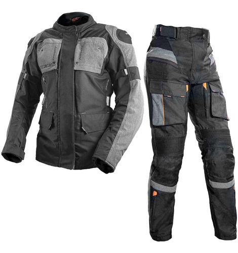 Conjunto Moto Jaqueta Feminina Texx Armor Calça Texx Armor
