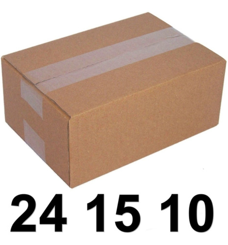 150 Caixas Papelao 24 15 10 Cm  Correio Sedex Mercado Envios