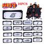 16pcs Anime Naruto Akatsuki Cosplay Headband Y