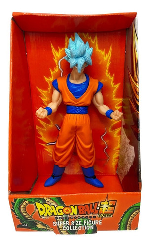 Boneco Dragon Ball Z - Goku Super Sayajin 26cm - Cabelo Amar