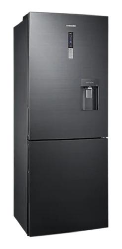 Refrigerador Inverter No Frost Samsung Rl4363sbabs Negro Inox Con Freezer 432l 110v - 120v