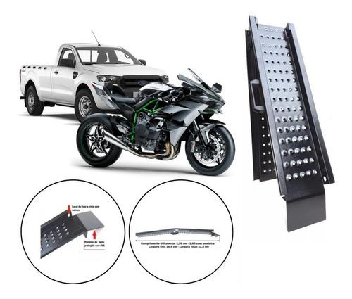 Rampa Subir Moto Grande 600 750 1000 Caminhonete Dobrável