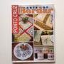 Revista Arte De Bordar Ponto Cruz Toalhas De Banho Mesa B853