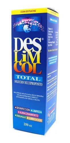 3 Liquido Lentes Solución 250 Cc + 3 Estuche  + Envío Gratis