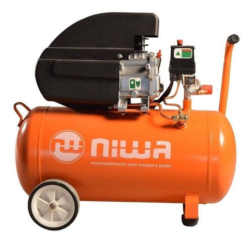 Compresor De Aire Eléctrico Monofásica Niwa Anw-2.5/50 220v