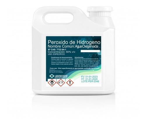 Peróxido De Hidrógeno 50% Galón