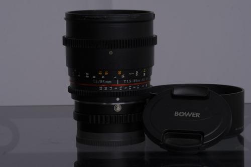 Lente Sony Bower 85mm T1.5 Cine  Full Frame A-mount E-mount