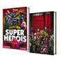 2 Livros Nerd Leitura Obrigatória Super Heróis Marvel
