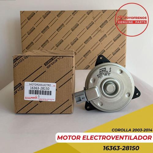 Motor Electro Ventilador Corolla 2003 2008 Yaris 2006 2010