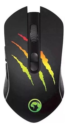 Mouse De Juego Marvo  M425g Negro